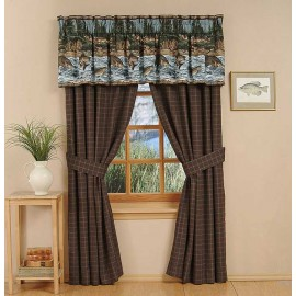 River Fishing Valance *