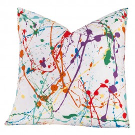Crayola Splat Square Pillow - 16 X 16 Square