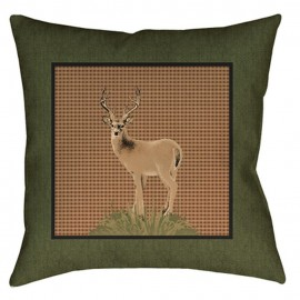 The Lodge Pillow - 20x20 - Deer *