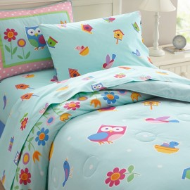 Birdie Full Lightweight Comforter Set