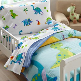Dinosaur Land Toddler Size Comforter by Olive Kids