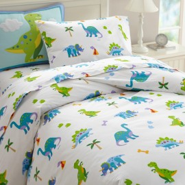 Dinosaur Land Twin Size Duvet Cover
