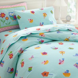 Birdie Twin Size Duvet Cover by Olive Kids