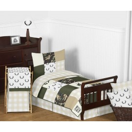 Woodland Camo Toddler Bedding Set By Sweet Jojo Designs