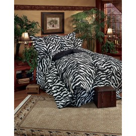 Black & White Zebra Bed in a Bag Set