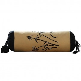 Zen Garden Gold Bolster Pillow
