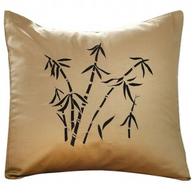 Zen Garden Gold Decorative Pillow