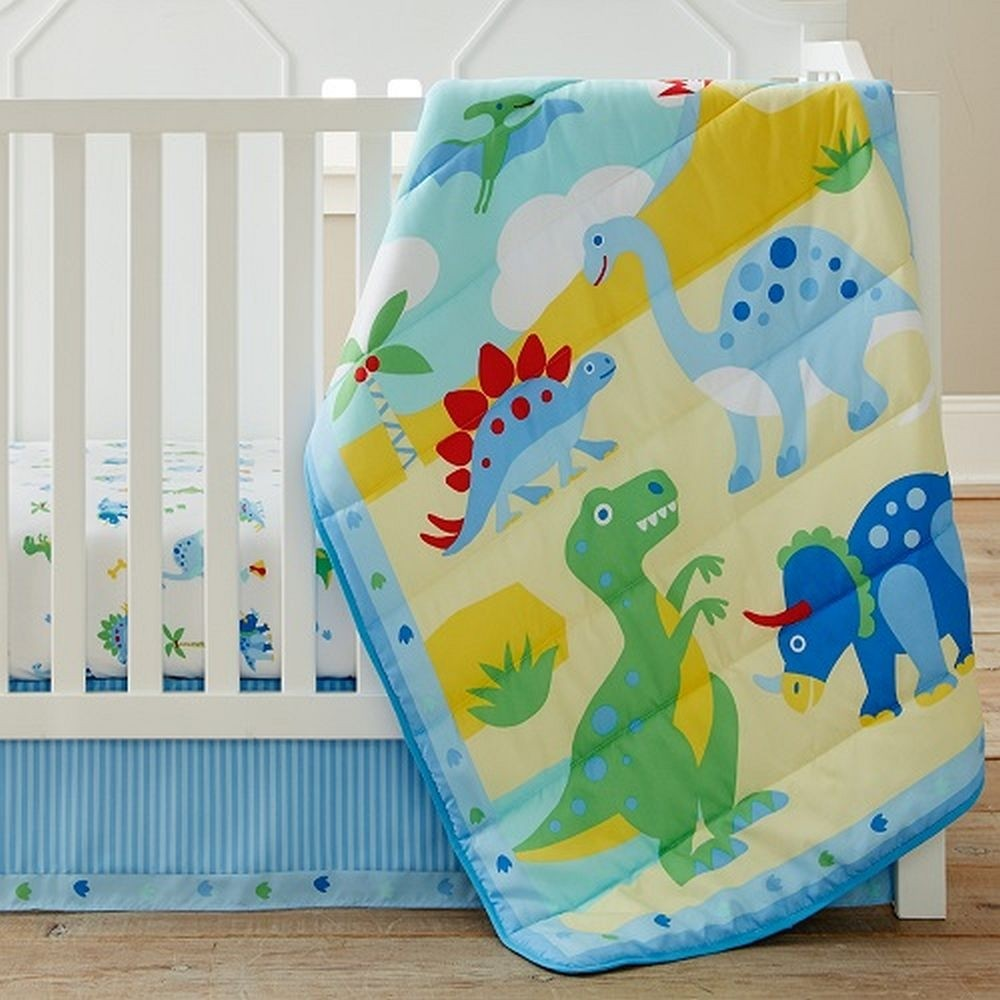 Olive Kids Dinosaur Land Crib Set Baby Boys Bedding